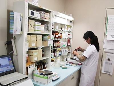 入院患者さんへの投薬業務